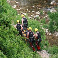 Rescatan el cadáver de un hombre que ha caído de forma accidental al fondo del Tajo por los Jardines de Cuenca