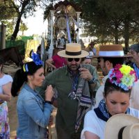 La Hermandad del Rocío de Ronda cruza la Raya Real y ya está a un paso de la Blanca Paloma