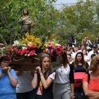 El municipio de Algatocín celebró por todo lo alto la Romería de Salitre en honor a San Isidro Labrador