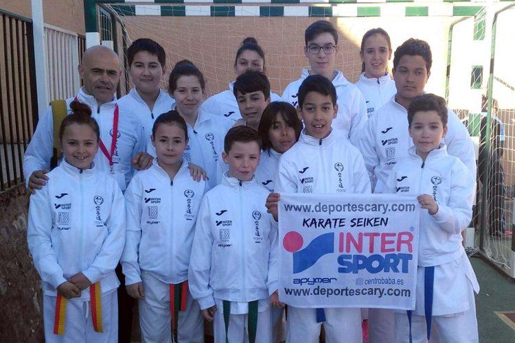 La Escuela de Kárate Seiken logra numerosas medallas en las competiciones provinciales de Istán y de Algarrobo