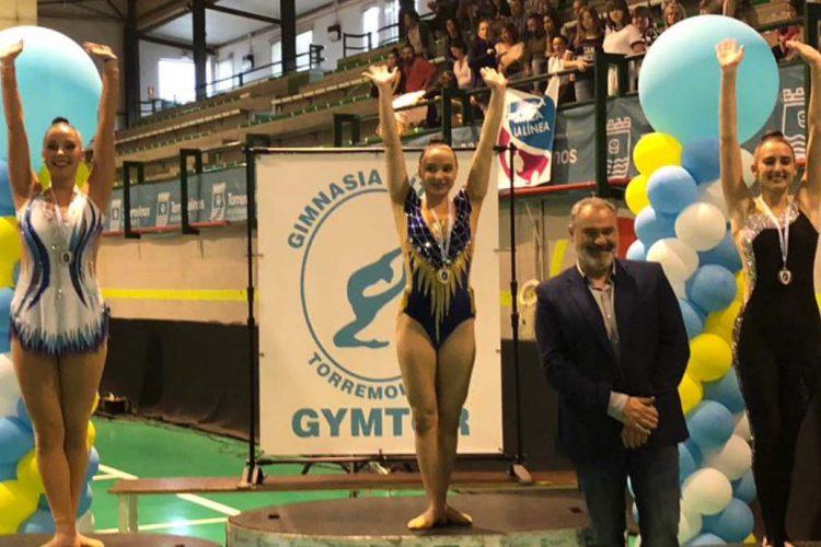Las gimnastas del Club AGRA de Ronda lograron medallas en los torneos de Córdoba y de Torremolinos