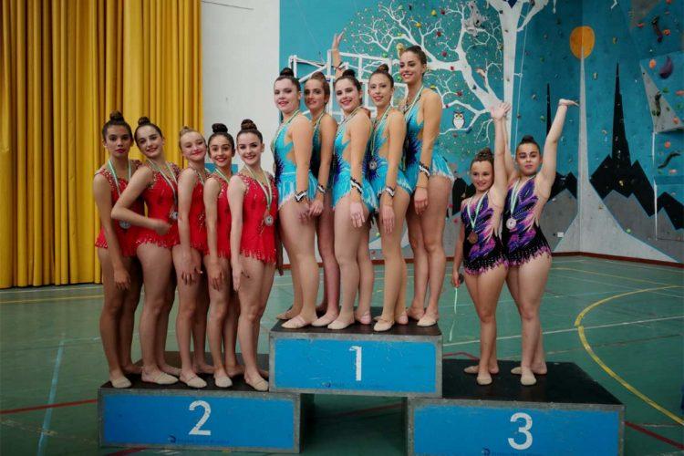 Las gimnastas del Club AGRA lograron ocho medallas en el Torneo de Arcos de la Frontera