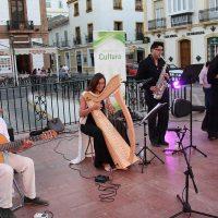 Ronda y el Grupo Entreamigos celebraron el Día Europeo de la Música con una velada con artistas locales
