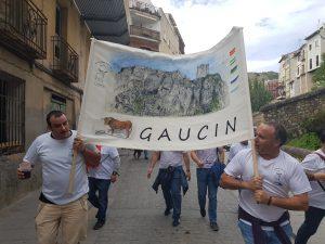 Vecinos de Gaucín en el congreso.