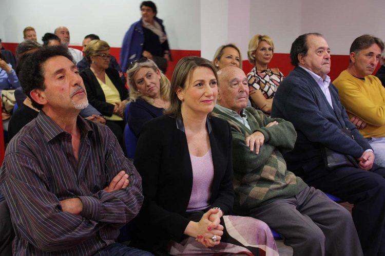 Isabel Aguilera es proclamada candidata a la Alcaldía por el PSOE una vez que Valdenebro ha formalizado hoy su renuncia