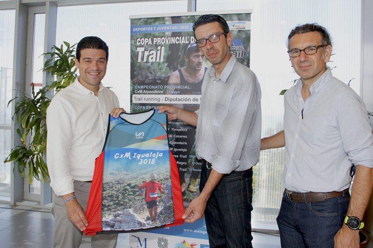 La carrera por montaña de Igualeja será la sexta prueba puntuable de la Copa Provincial de Trail 'Diputación de Málaga'