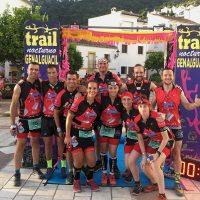 Los corredores del Club Ascari-Harman Trail Running lograron tres medallas en el III Trail Nocturno de Genalguacil