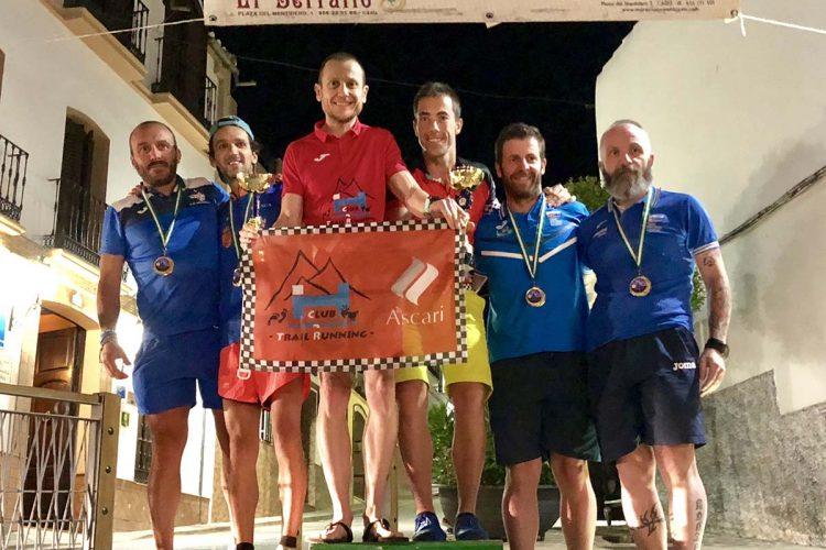 Deportistas del Club Ascari-Harman Trail Running han corrido la Marcha Nocturna de El Burgo y la Crono-Escalada de Mallorca