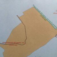 Cambio de trazado del carril del Cortijo de Los Pinos