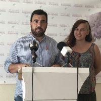 Alejandro Serrato, con la candidatura de Teresa Rodríguez, se impone en las primarias de Podemos en Málaga