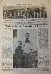 Un periódico rondeño recuerda la tragedia.