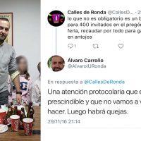 Álvaro Carreño (IU) dijo en 2016 que ya no habría más copas y canapés, ahora se gasta otra vez 6.600 euros en copas y canapés