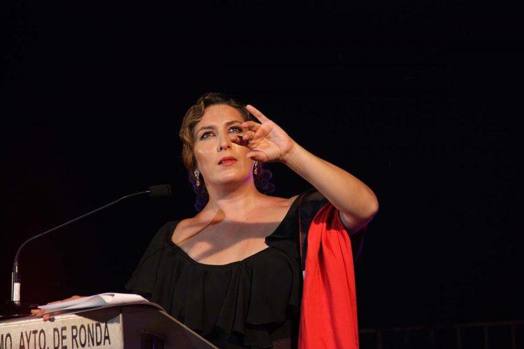 Estrella Morente trajo a Ronda un pregón de Feria cargado de arte y embrujo