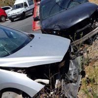 Tres personas resultan heridas en una colisión de tres vehículos en la carretera Ronda-Benaoján