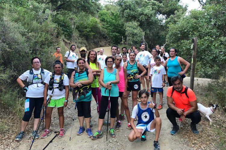 Nace un nuevo club deportivo en el Valle del Genal: Algatocín Trail