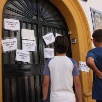 """Educación justifica que no se haya retirado este verano el amianto del colegio Virgen de la Paz por """"problemas administrativos"""""""