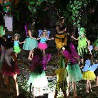 Los niños de Cartajima ponen en escena la obra de teatro 'La voz de los castaños'