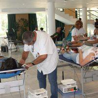 El Centro Regional de Transfusión Sanguínea y Cruz Roja logran más de 500 donaciones de sangre en julio y agosto en Ronda