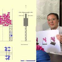 El arquitecto rondeño Manuel Baena diseña una atrevida e innovadora portada de Feria