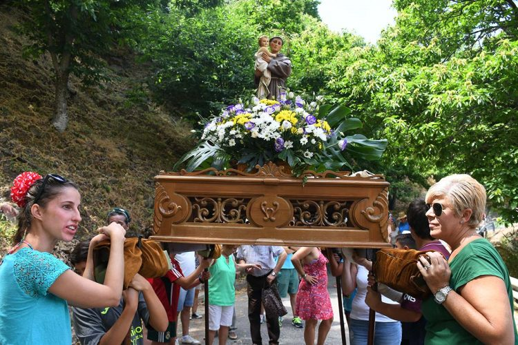 Pujerra cerró su Semana Cultural con la tradicional romería de San Antonio de Padua