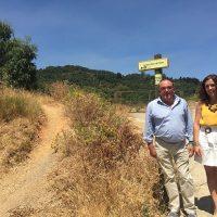La Diputación invierte 60.000 euros en la creación de un sendero de subida a la Sierra del Hacho de Gaucín