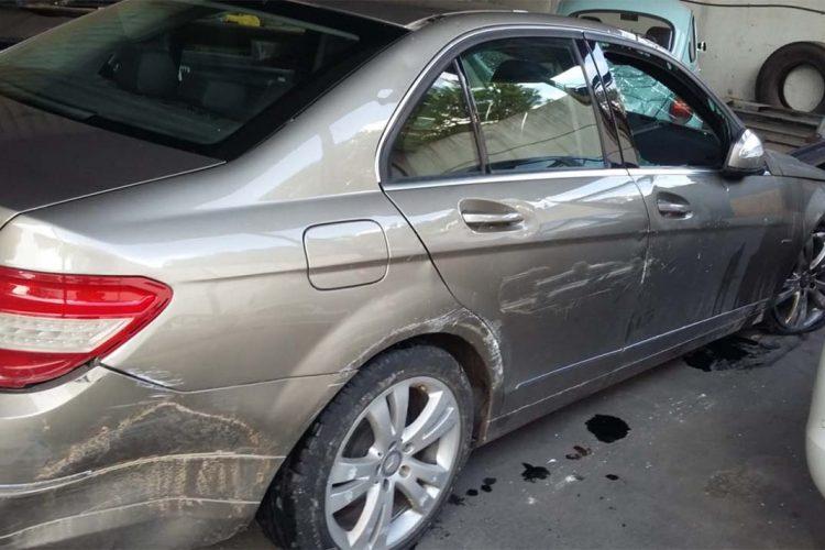 El vuelco de un vehículo en la carretera Ronda-Arriate se salda con un hombre de 78 años herido