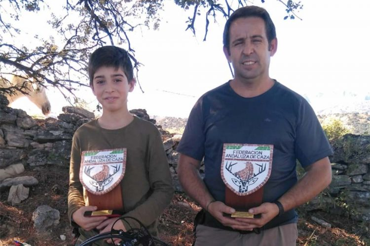 Los deportistas rondeños Juan y Daniel Turrillo se proclaman campeones de Andalucía en tiro con arco de caza simulada