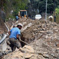 Benalauría realiza obras de mejora en uno de los accesos al municipio