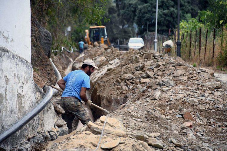 La Diputación destina 95.000 euros para mejorar las redes de abastecimiento de agua de Benalauría y Cortes de la Frontera