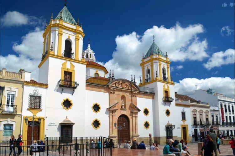 Nuestra historia: inauguración de la iglesia parroquial de Nuestra Señora del Socorro de Ronda