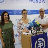 """El PP pide una bajada generalizada del IBI para evitar los """"sustos"""" que se han llevado muchos rondeños este año en sus recibos"""