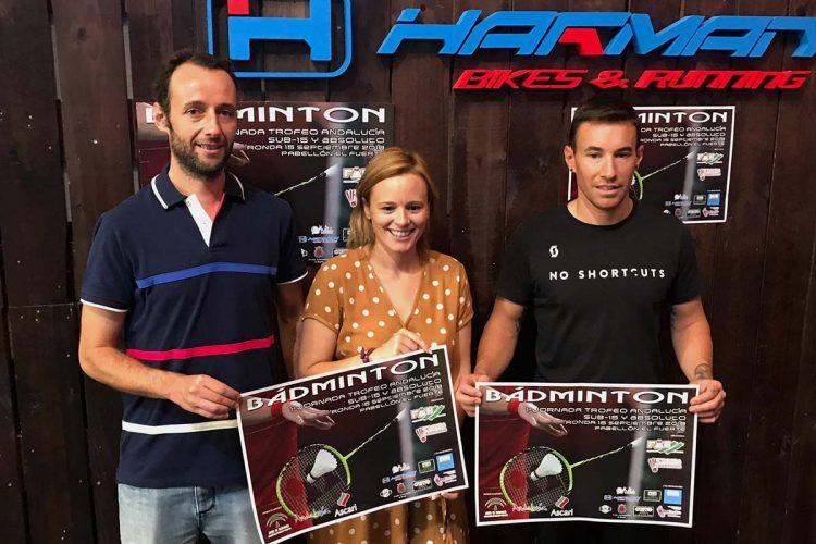 Ronda acoge este fin de semana el Trofeo de Andalucía de Bádminton en categorías sub-15 y absoluta