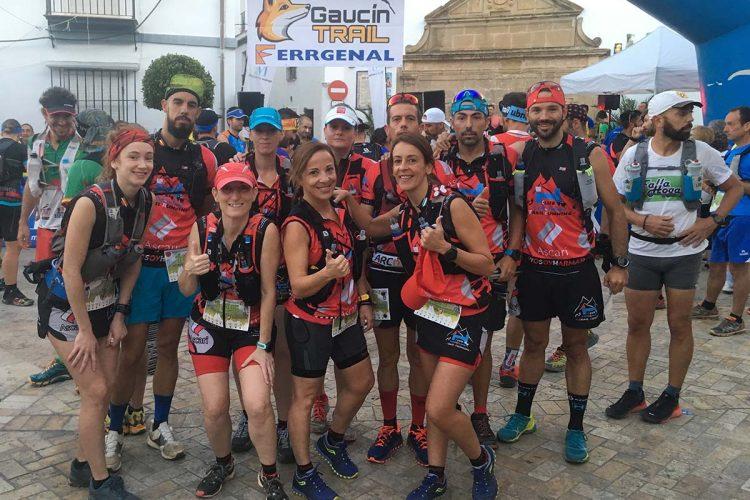 Los corredores del Club Harman Trail Running logran cuatro medallas en el Trail de Gaucín