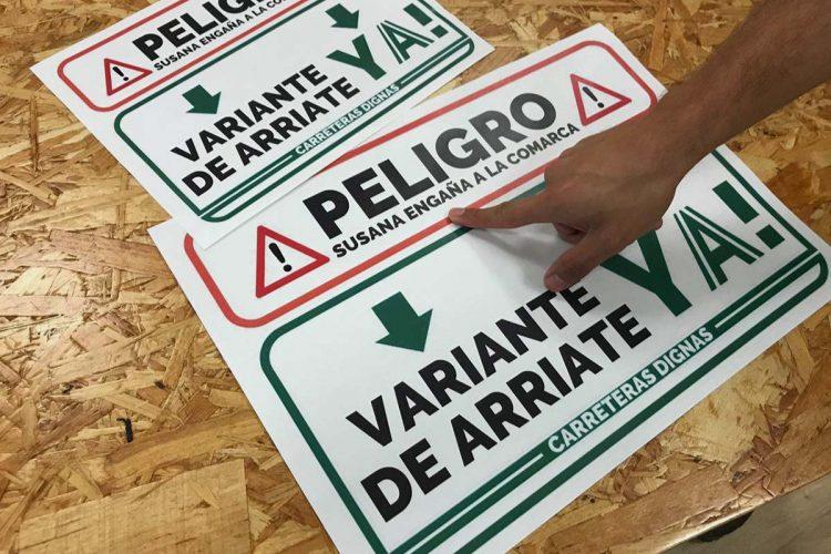 Podemos lanza una campaña para reclamar a la Junta que reinicie las obras de la variante de Arriate