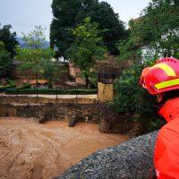 Los efectivos del dispositivo de emergencias han realizado más de 70 salidas como consecuencia de los daños provocados por la gota fría en Ronda