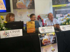 """Conferencia en el Centro Cultural Daoiz y Velarde de Madrid sobre """"Abbás Ibn Firnás"""" (Foto: Rafael Pascual)."""