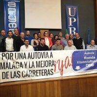 La Plataforma Autovía Ronda Ya únicamente logra reunir a 14 de los 50 alcaldes que había convocado a una reunión para aunar esfuerzos