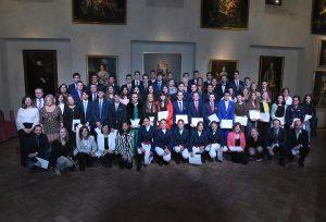 Más de cien alumnos reconocidos por su esfuerzo.