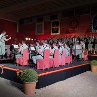 Más de 600 personas presencian en la Maestranza el Concierto del Día de la Fiesta Nacional ofrecido por la Legión