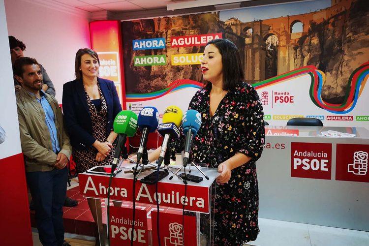 La parlamentaria autonómica Gema Ruiz es designada candidata del PSOE para las elecciones municipales en Cortes de la Frontera