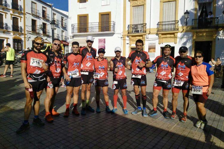 Los corredores del El Club Harman Trail Running logran cuatro medallas en la II Cross Trail de Cañete la Real