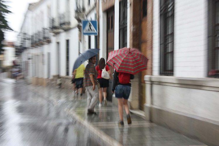 Se acaba el buen tiempo y la Serranía entra este martes en alerta amarilla por lluvias