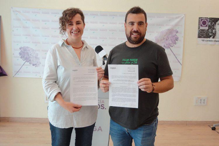 Podemos denuncia en el Parlamento andaluz que Puerto Saúco lleva ya seis meses sin agua por dejadez del Ayuntamiento
