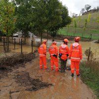 Protección Civil pide ropa y agua para abastecer a las familias que lo han perdido todo en pueblos de la comarca por la gota fría