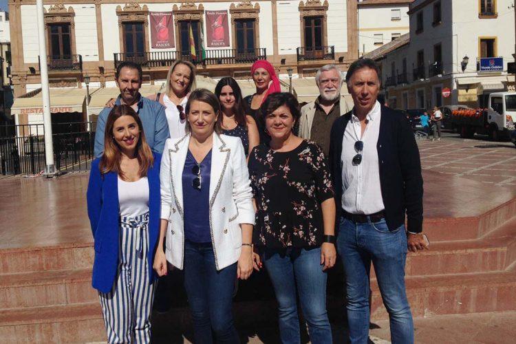 """Las direcciones regional y provincial del PSOE vuelven a insistir: """"la candidata de Ronda está fijada, y es Isabel Aguilera"""""""