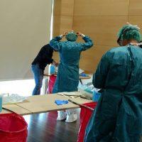 Profesionales de Urgencias del Área Sanitaria Serranía actualizan sus conocimientos en actuaciones en situaciones de posible riesgo biológico