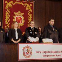Valdenebro desplanta a los abogados rondeños en el día de su patrona tras ser criticada la gestión del Ayuntamiento en casos de violencia de género
