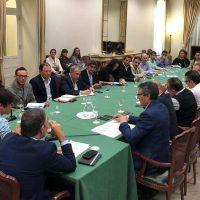 Valdenebro no presenta ninguna propuesta ni petición en la reunión que se ha mantenido en Málaga para analizar los daños que ha provocado la gota fría en la provincia
