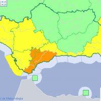 La Serranía permanecerá toda la jornada del domingo en alerta naranja en previsión de fuertes lluvias y tormentas