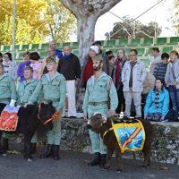 Miembros de Asprodisis comparten una jornada de convivencia con La Legión
